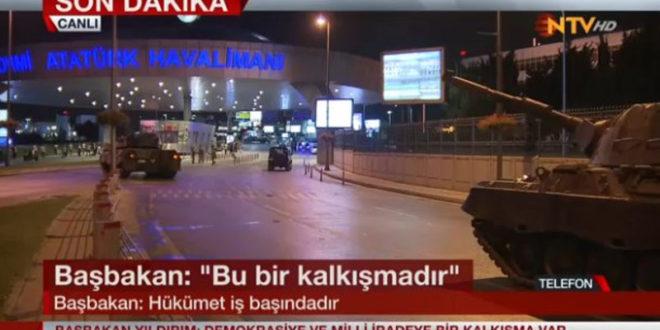 У Турској уведено ванредно стање, војска блокирала мостове, аеродроме... (фото)
