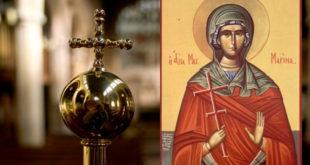 Данас је Света великомученица Марина – Огњена Марија 6