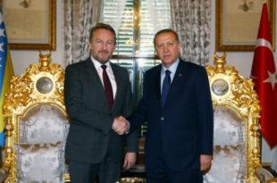 Исламиста Изетбеговић подржао Ердогана