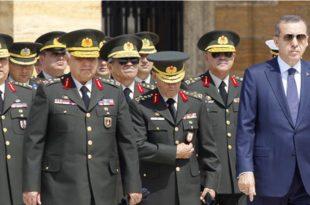 Ердоган је смјестио генералима, сада може мирно промијенити устав и узети сву власт!
