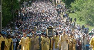 Литија руског православља са љубављу и молитвом за Украјину стигла до Кијево-Печорске лавре 8