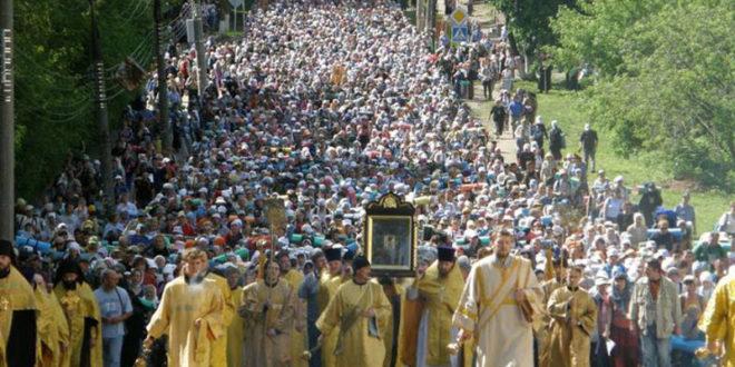 Литија руског православља са љубављу и молитвом за Украјину стигла до Кијево-Печорске лавре 1