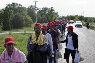 МАЂАРСКА НЕ ПОПУШТА Мигранти остају у Хоргошу, власти одбиле да их пропусте