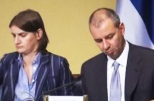 КАКО ПОСТАТИ МИНИСТАРКА? Ана Брнабић пеглала криминалне афере Вучићевог кума