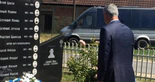 Мајка детета убијеног у Гораждевцу вратила Тачијев венац 12