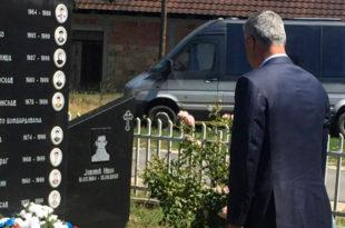 Мајка детета убијеног у Гораждевцу вратила Тачијев венац