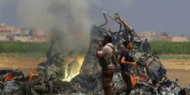 Оборен руски транспортни хеликоптер у Сирији, погинуло 5 чланова посаде