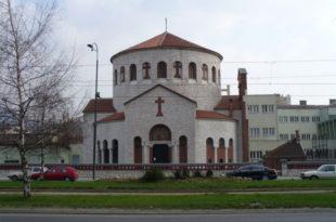 Запаљена православна црква у Сарајеву