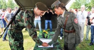 Од следеће године обавезно служење војног рока? 6