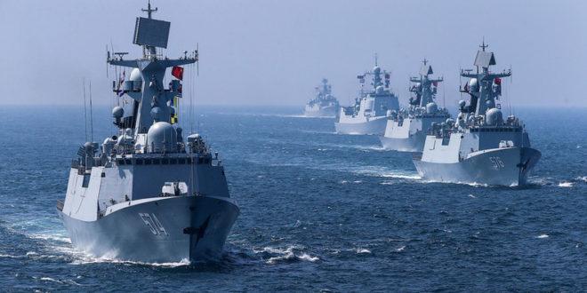 Спектакуларна завршница руско-кинеских поморских вежби (видео)