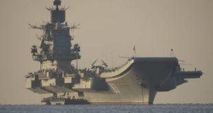 """Русија шаље носач авиона """"Адмирал Кузњецов"""" пред обале Сирије 2"""