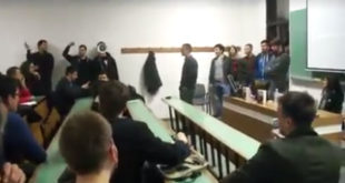 Фашисти! - Прекинута трибина НАТО лобиста на Филозофском факултету (видео) 10