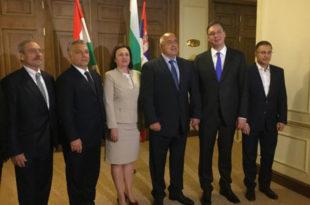Бургас: Борисов, Вучић и Орбан разговарали о енергетској сарадњи три земље 6