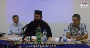 Трибина о лажној и погубној свејереси званој ЕКУМЕНИЗАМ (видео) 7
