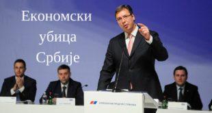 УПРОПАСТИО СРБИЈУ: Вучић ове године узима још 7,6 милијарди евра кредита