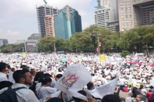 Масовни протести против содомитских бракова у Мексику