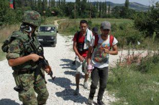 Војска и полиција и на граници према Црној Гори