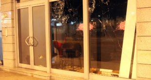 ПОДГОРИЦА: Непознати нападачи каменовали зграду телевизије ПИНК 11