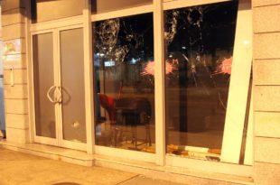 ПОДГОРИЦА: Непознати нападачи каменовали зграду телевизије ПИНК