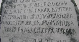Гробља српских хероја зарасла у коров као што је у коров зарасла српска држава и народ 1