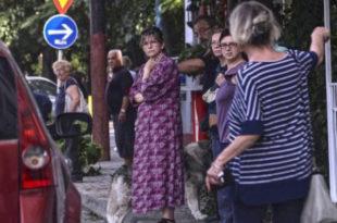 Паника у Скопљу: 100 земљотреса у два дана