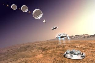 """""""Егзо-Марс"""" слеће на Црвену планету (видео)"""