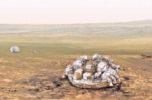 Европски модул се разбио о површину Марса