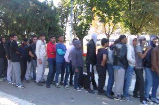 Навала миграната у Београду, одакле бре бандо напредна оволики мигранти у центру Београда? (видео)