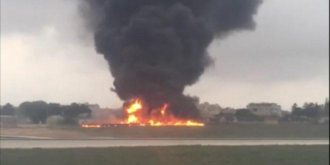 Малта: Пао авион са француским одбрамбеним званичницима, петоро мртво (видео)