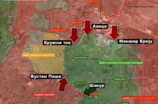БИТКА ЗА АЛЕПО: Сиријска армија напада са свих страна, слом џихадиста све ближи (видео) 9