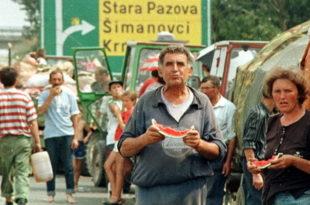 КОМЕСАРИЈАТ УПОЗОРАВА: Уместо Сиријаца гледајмо наше избеглице! 10,000 Срба из Хрватске на улици 3