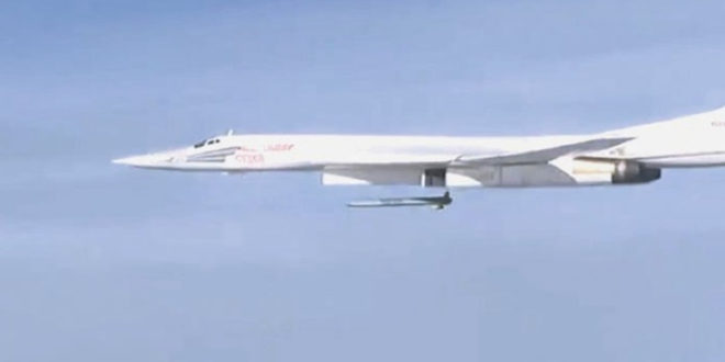 """Русија крља џихадисте у Сирији крстарећим ракетама """"Радуга КХ-101"""" домета 4.500 километара!"""