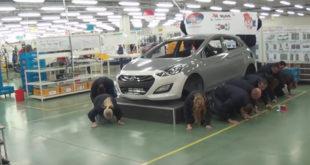 ХОРОР! Српски радници у Јури клече пред корејским газдама! (видео) 1