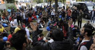 Анархисти покренули мигранте на немире у Београду док српски безбедњаци чешкају јаја и глуме пословну пратњу Сорошу 7