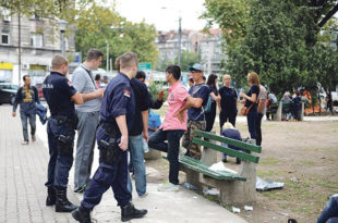 Мигранти направили хаос у Београду: Туча, протест, напади на Београђане (видео)