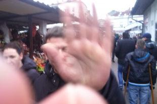 СНС насиљем покушао да спречи акцију ДЈБ на Врачару