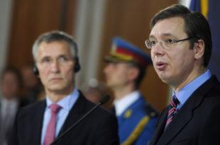 Прво успостављање државно-правног поретка на читавој територији Србије и исплата одштете за нанету штету, а дотле НАТО СИКТЕР!