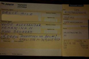 Пензионисани војни пилот вратио Вучићу једнократну помоћ од 5000 динара!