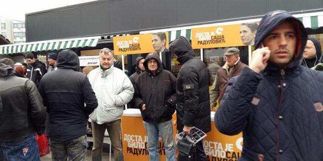 Четири опозиционе странке скупљају потписе за смену власти у београдској општини Врачар