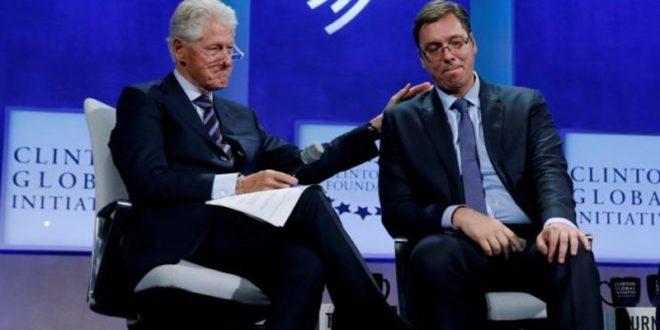 Вучићу, да ли је истина да си на рачун породичне фондације Клинтонових уплатио милион долара?