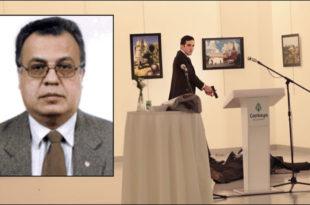 АТЕНТАТ У АНКАРИ: Руски амбасадор преминуо након рањавања, убица турски полицајац (видео)