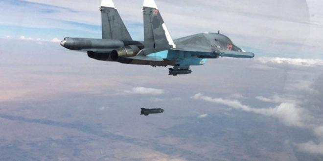 Руси авио ударима одбацили џихадисте од Палмире! (видео)