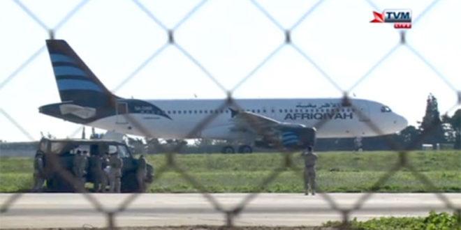 Отет либијски авион са 118 људи, отмичари претили екплозивом 1