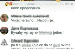 СТРАХОВЛАДА! На Фејсбуку опсовао Вучићу ћерку па ухапшен