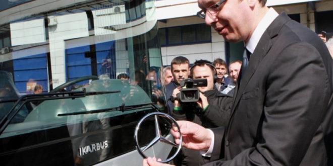 """""""Икарбус свели на сервис за увозне кинеске аутобусе"""""""