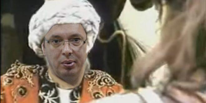 """""""Отаџбина"""": Вучић током седам година власти никада није био на Газиместану зато што се гнуша косовског мита и кнеза Лазара"""