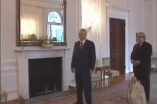 ЕКСКЛУЗИВНО: Слободан Милошевић - са страним делегацијама, ћаскање са камерманом (видео)