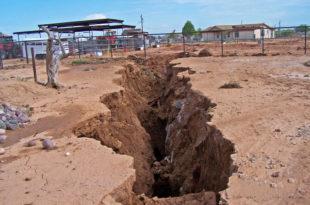 Гигантска пукотина тла у пустињи Сонора у америчкој држави Аризона (видео)