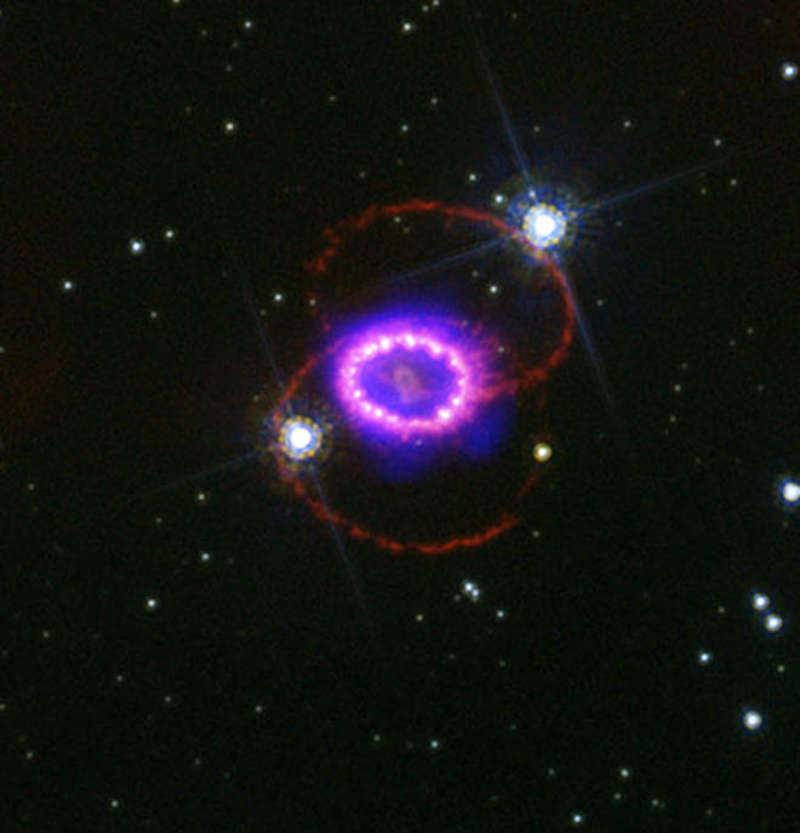 supernova 1987a discovery - HD1200×1200