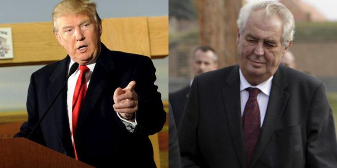 Земан подржао Трампа: Чешка и САД коначно савезници 1